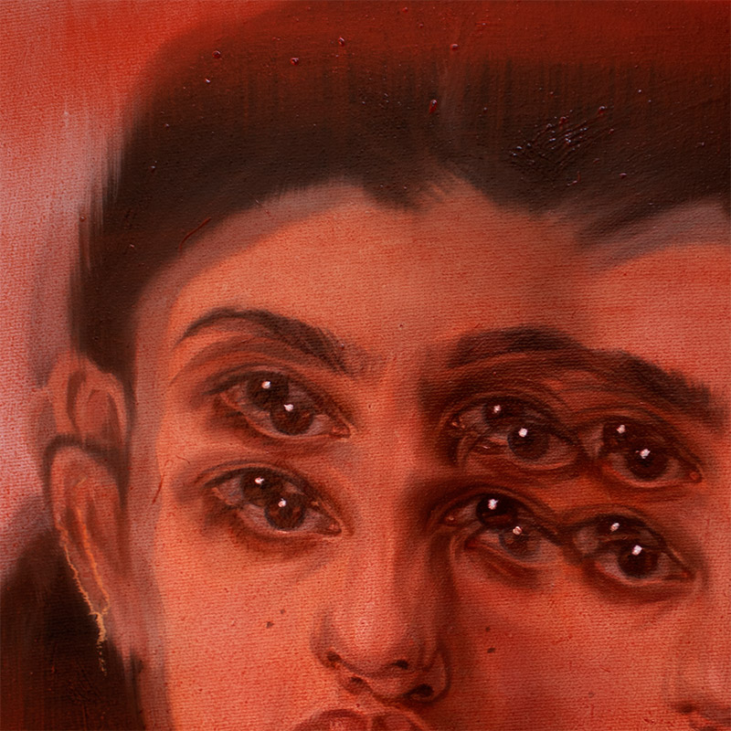 Alex Garant - Red Rivers (Detail 1)