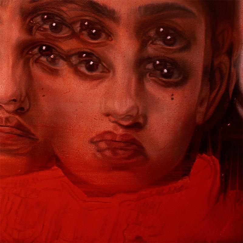 Alex Garant - Red Rivers (Detail 2)