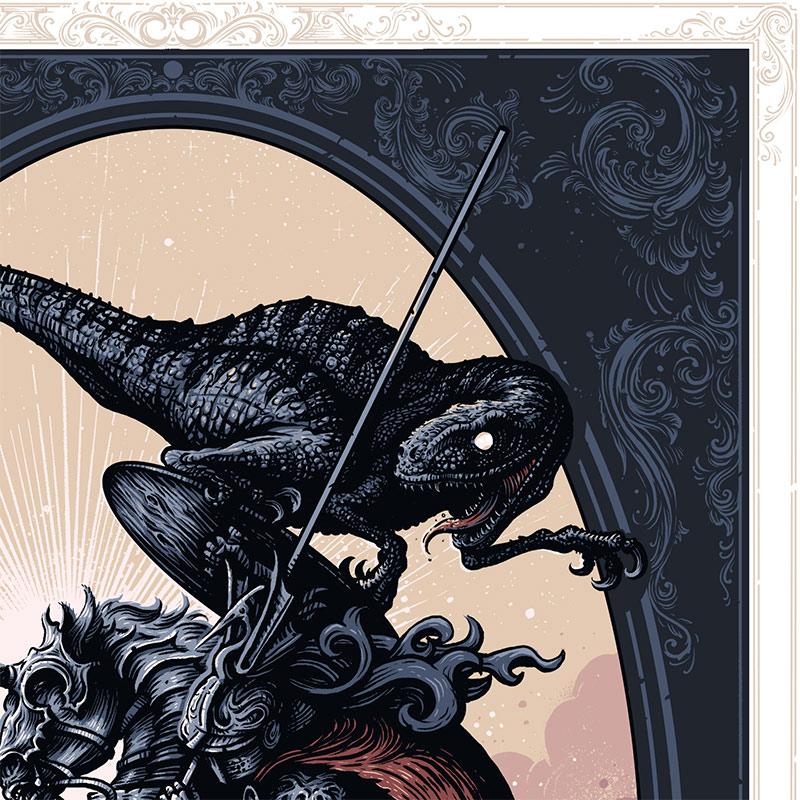 Alex Hovey - The Reptilian Brain (Detail 1)