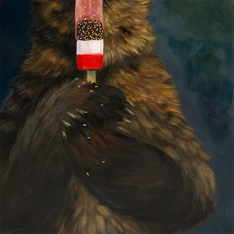Allison Friend - Bear Loves a Fab (Detail 2)