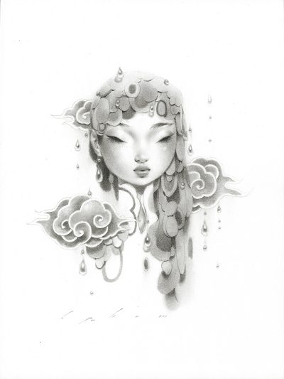 Bao Pham - Rain Goddess in Grey