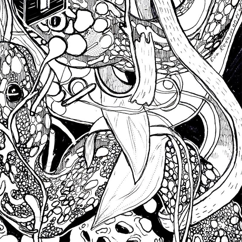 Eva Redamonti - Foreshadowing (Detail 3)