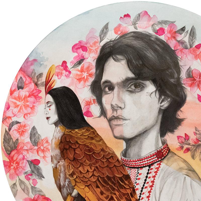 Hazel Ang - Ivan Tsarevich with Firebird (Detail 1)