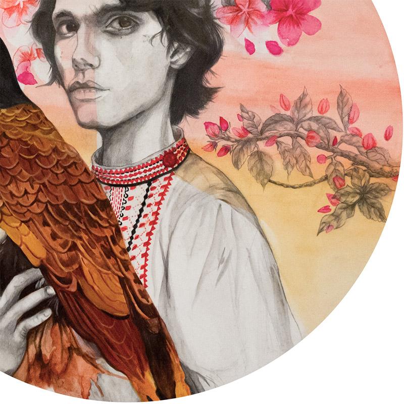 Hazel Ang - Ivan Tsarevich with Firebird (Detail 2)