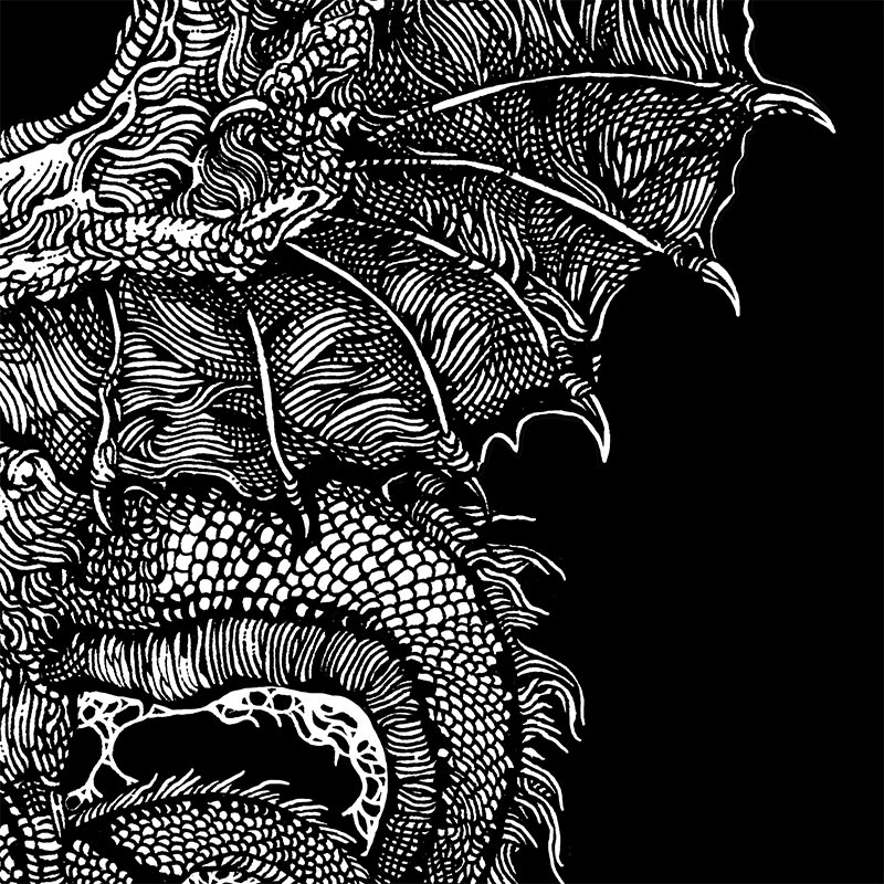 Ibayarifin - I Have Seen the Dragons on the Wind of Night (Detail 2)