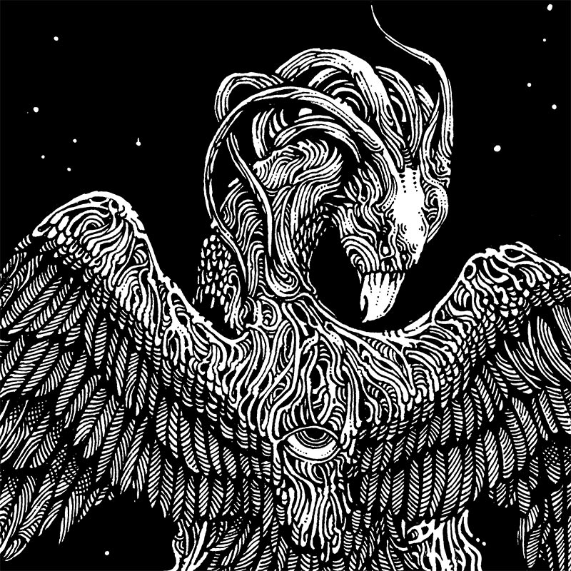 Ibayarifin - Phoenix Eagle (Detail 1)