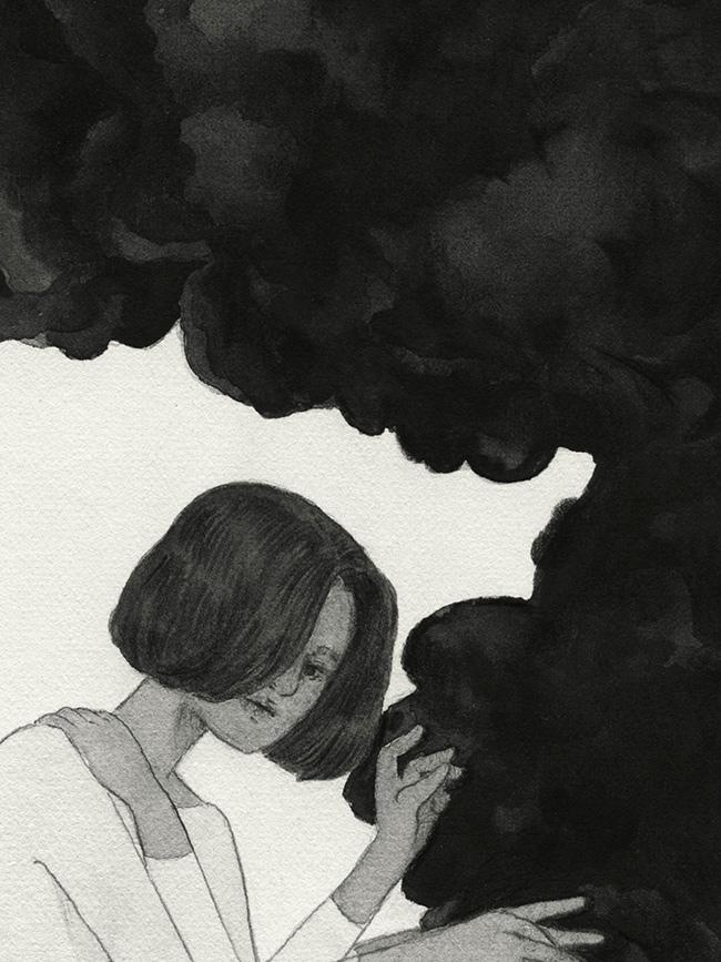 Kristin Siegel-Leicht - Bitter (Detail 1)