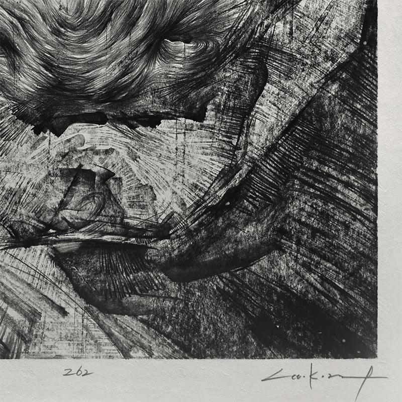 Lee.K - Untitled #8801 (Detail 3)