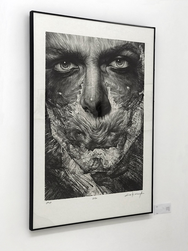 Lee.K - Untitled #8801 (Framed)