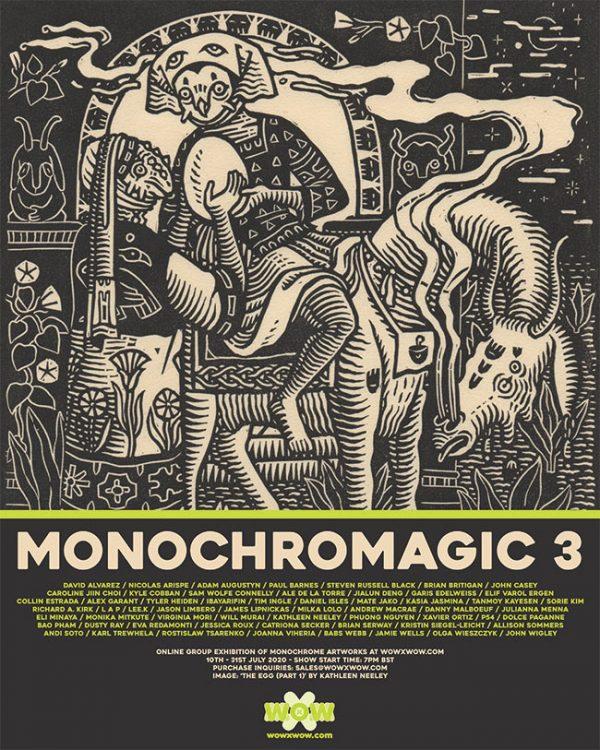 Monochromagic 3 - Flyer (Kathleen Neeley)