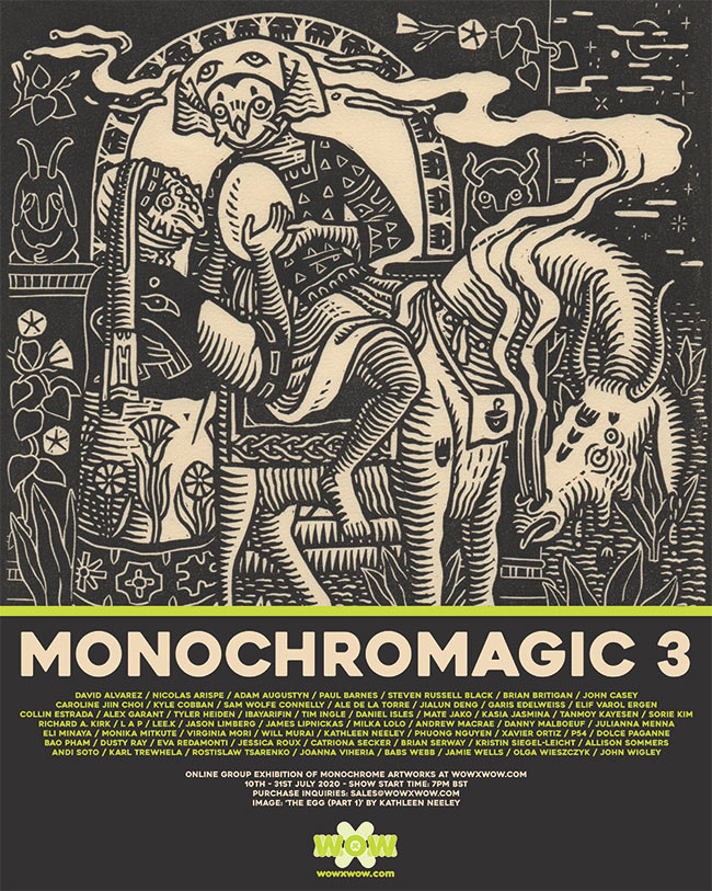 Monochromagic 3 - Flyer (Kathleen Neeley)