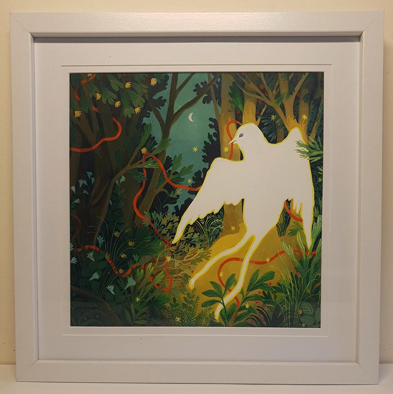 Nicola Gower Wallis - Follow the String (Framed)