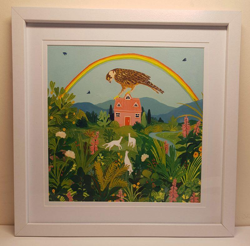 Nicola Gower Wallis - Sunday Afternoon (Framed)