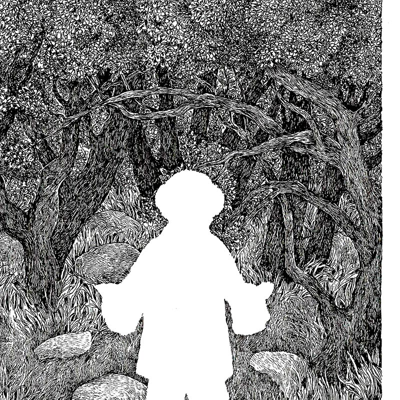 Nicolas Arispe - L'Enfant Sauvage (Detail 1)