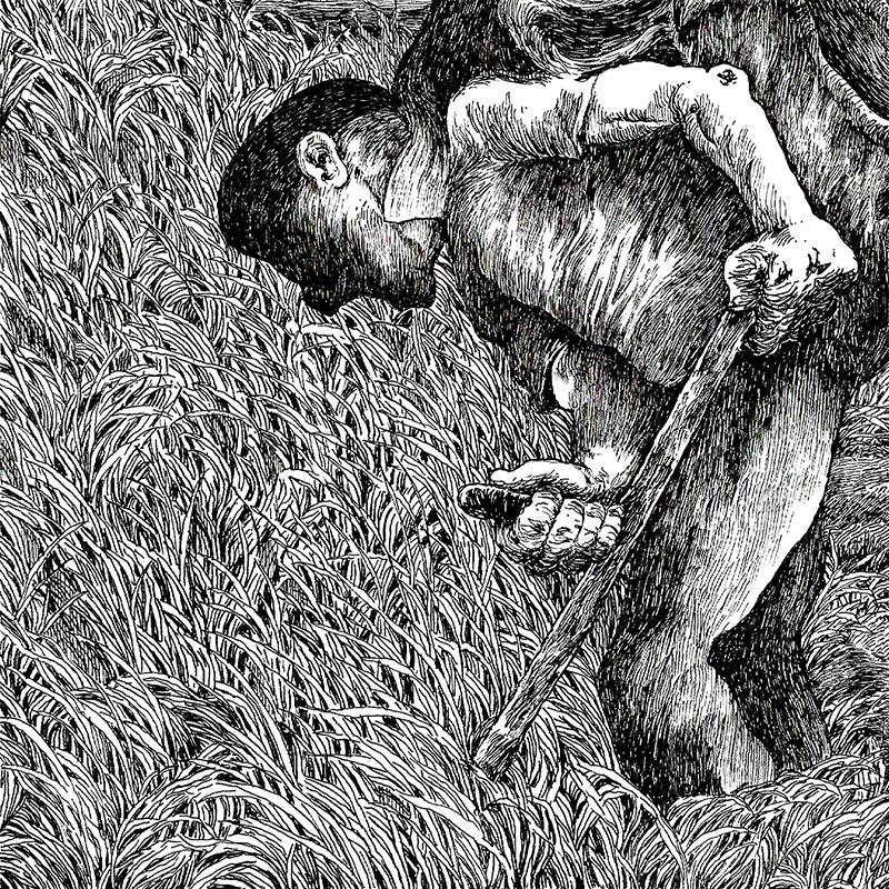 Nicolas Arsipe - Lavorare Stanca (Detail 2)