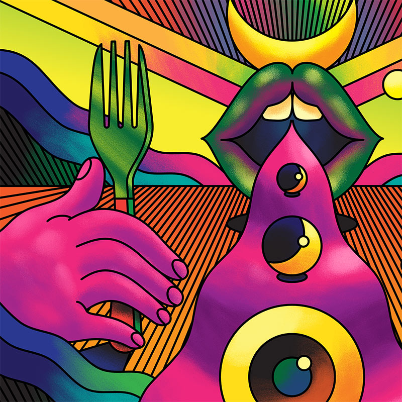 Scott Balmer - The Celestial Feast (Detail 1)
