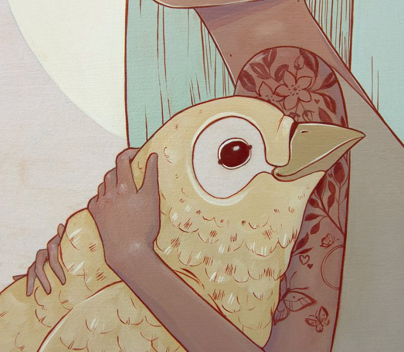 Alyssa Mees - Nurture (Detail 2)