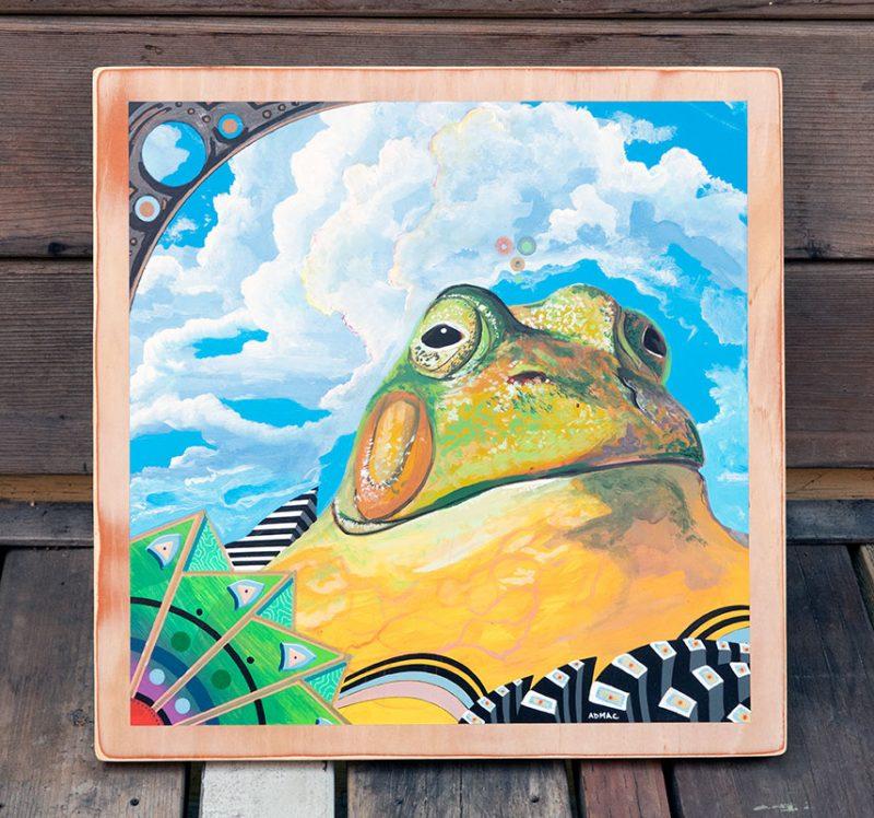 Andrew MacRae - The Pretending Mountain (Front)