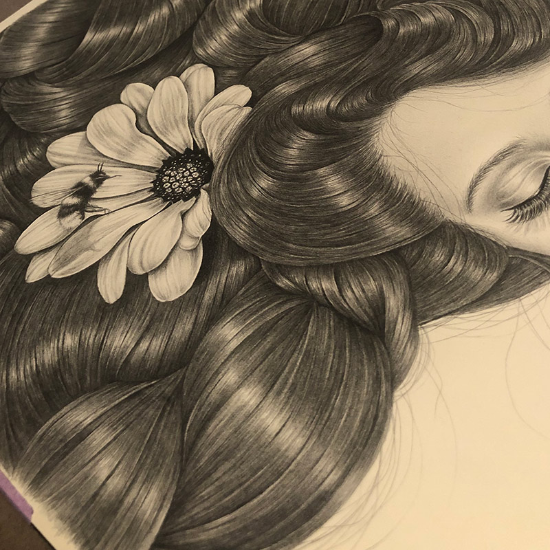 Anna Kathleen - Gaia (Detail 3)