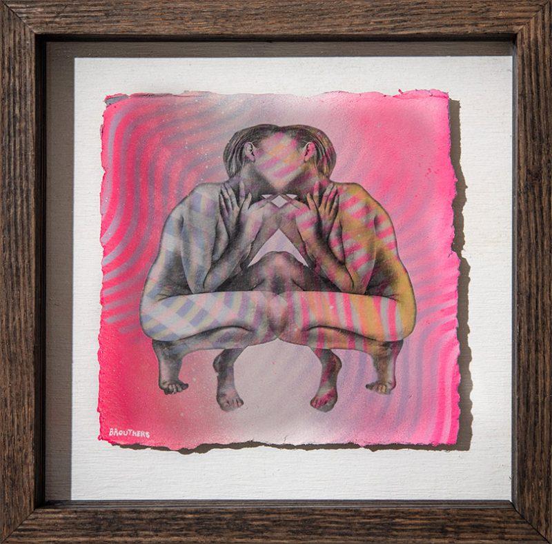 Arthur Brouthers - Polarity (Framed)