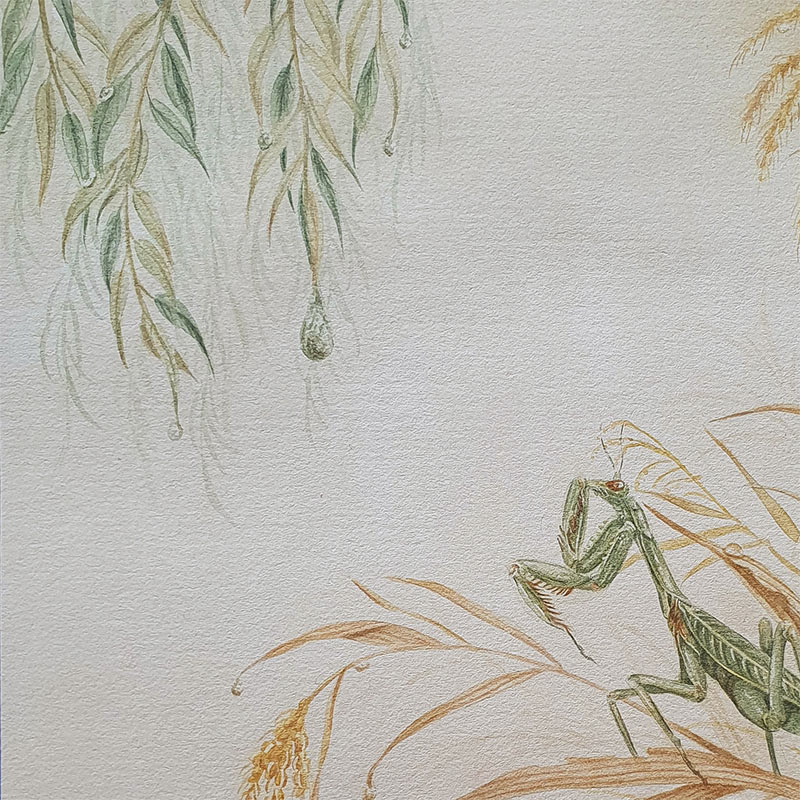 Jacquell Phuong Nguyen - Morning Dew (Detail 1)