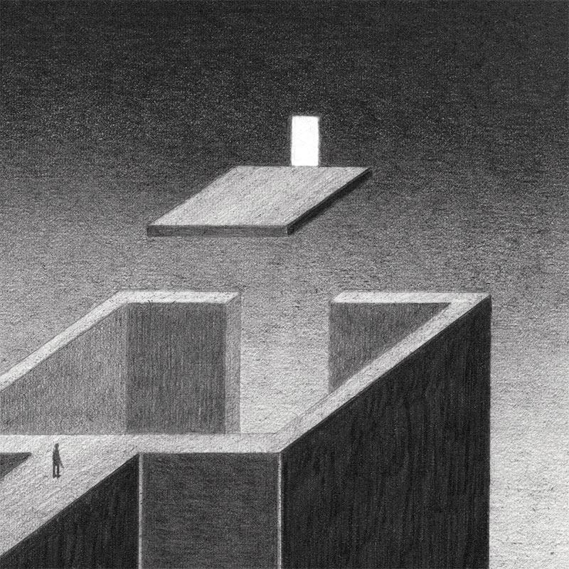 James Lipnickas - Light in the Dark (Detail 2)