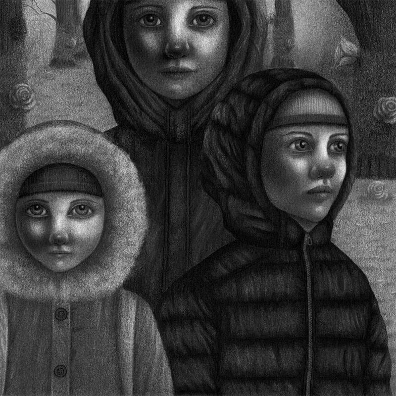 Joanna Viheria - Valley of Shadow 10.7.2020 (Detail 2)