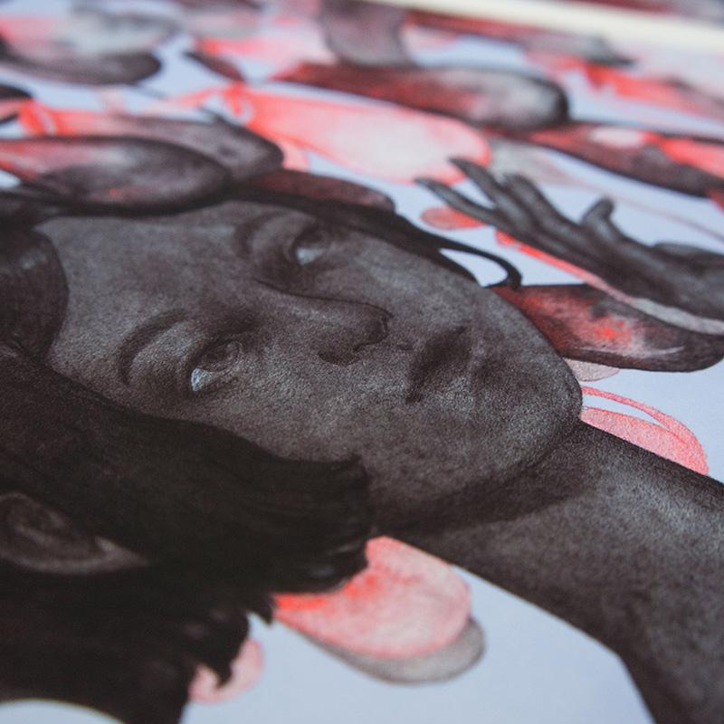 Kristin Siegel-Leicht - I'm Not That Fragile (Detail 2)