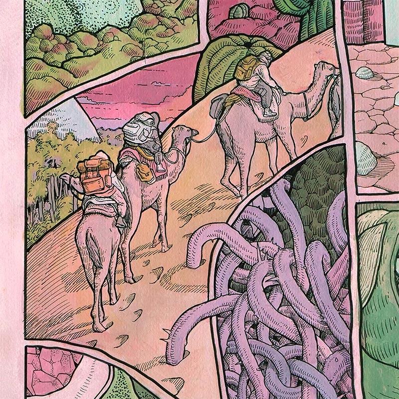Micha Huigen - Desert Dweller (Detail 2)