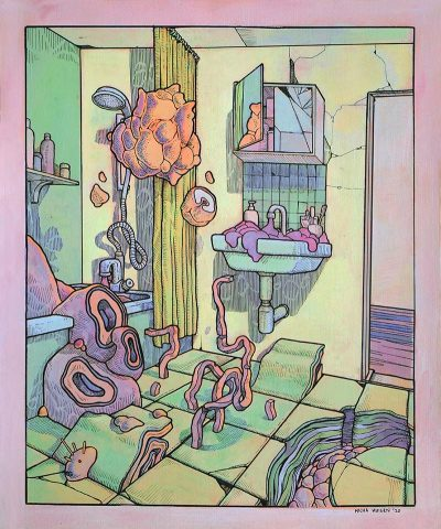 Micha Huigen - Fungus in the Bathroom