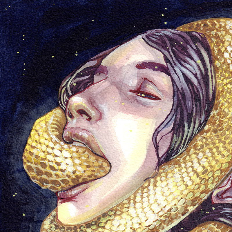 Myriam Tillson - Ouroboros (Detail 1)