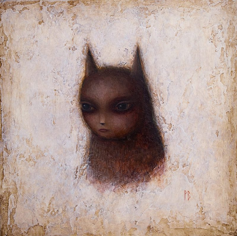 Paul Barnes - Self Portrait as a Cat