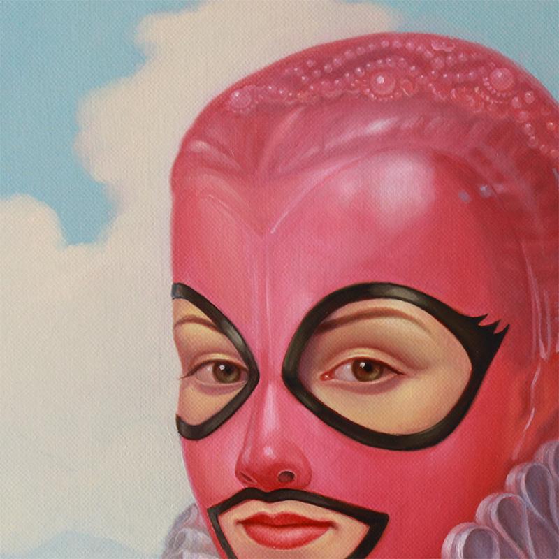 Paul Neberra - Bubble Gum Queen (Detail 1)