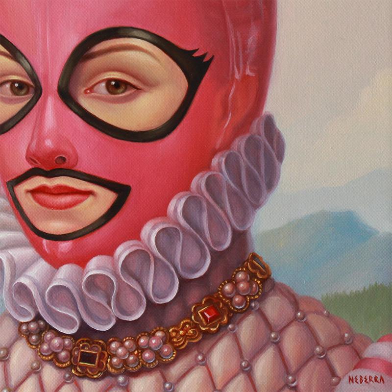 Paul Neberra - Bubble Gum Queen (Detail 2)