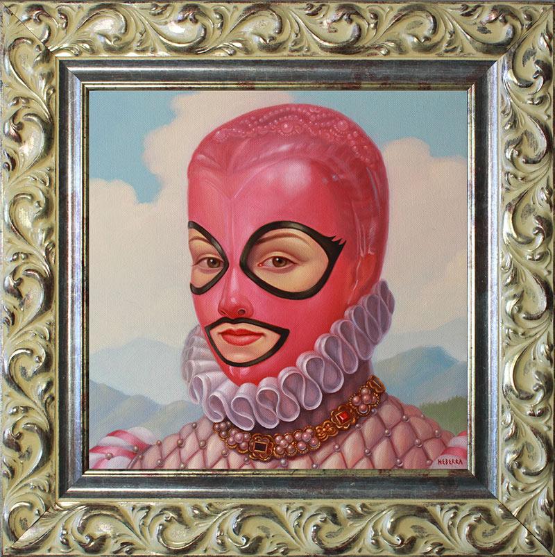 Paul Neberra - Bubble Gum Queen (Framed)