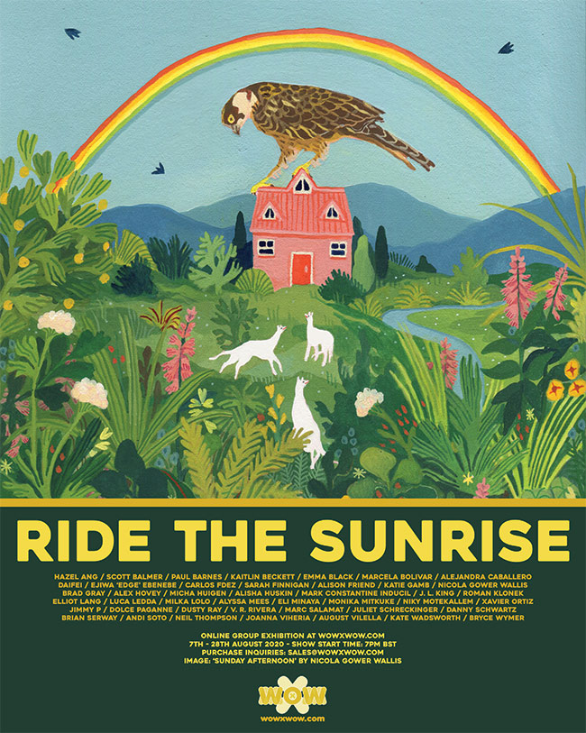 Ride the Sunrise - Flyer