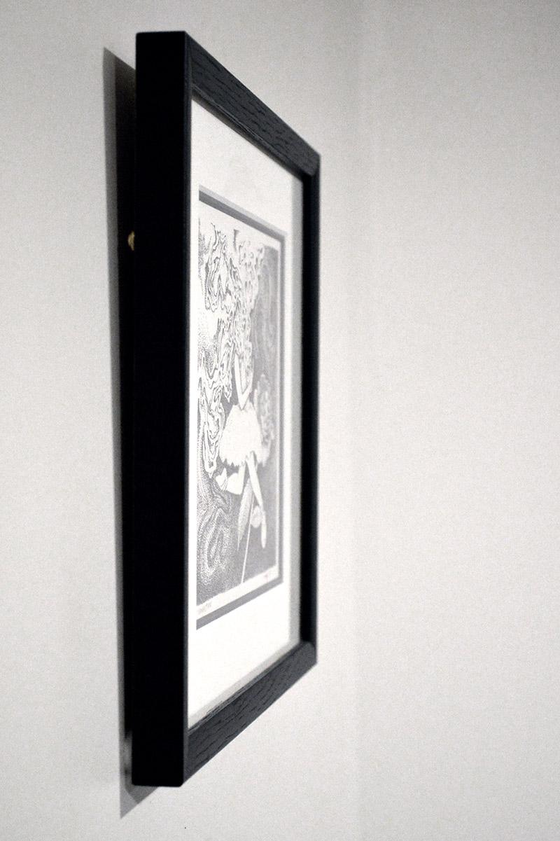 Tim Ingle - Combustion (Framed - Side)