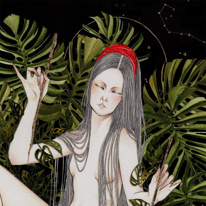Andi Soto - The World (Detail 1)