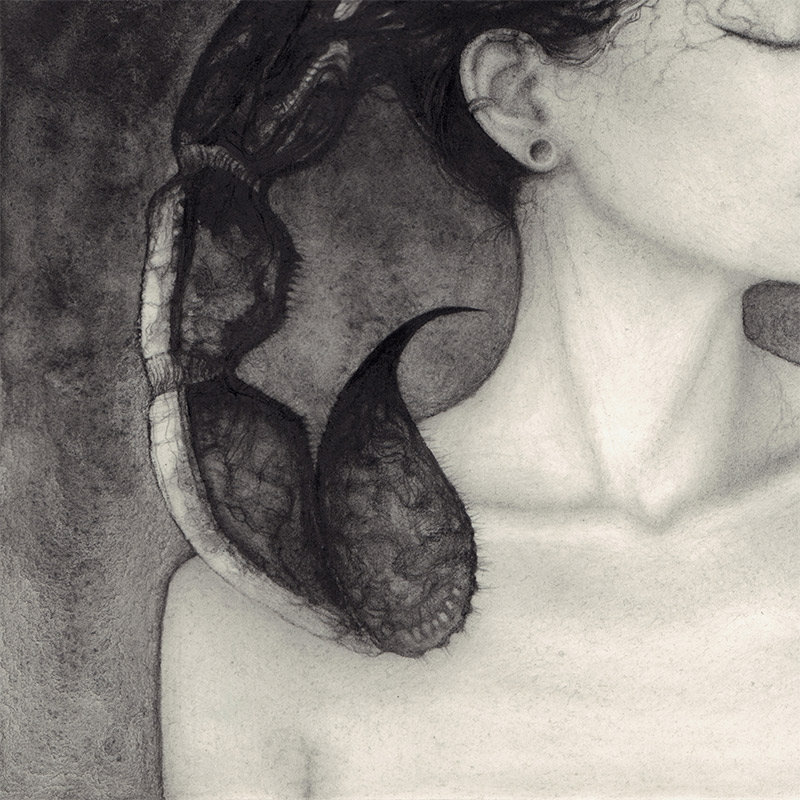 Jamie Wells - Scorpius (Detail 2)