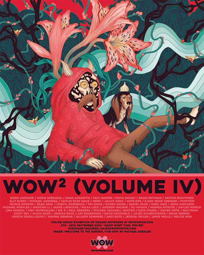 WOW² (Volume IV) - Flyer (Michael Koehler)
