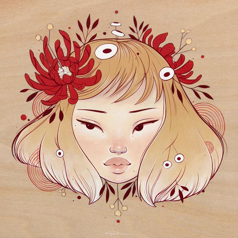 Alyssa Mees - Chrysanthemum