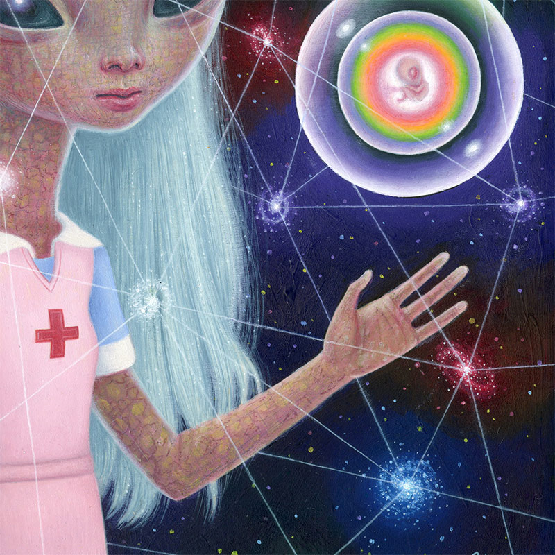 Ana Bagayan - Cosmic Nurse (Detail 2)