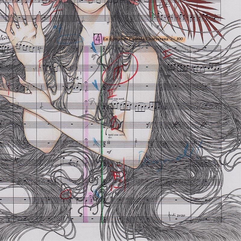 Andi Soto - Danzad (Detail 2)