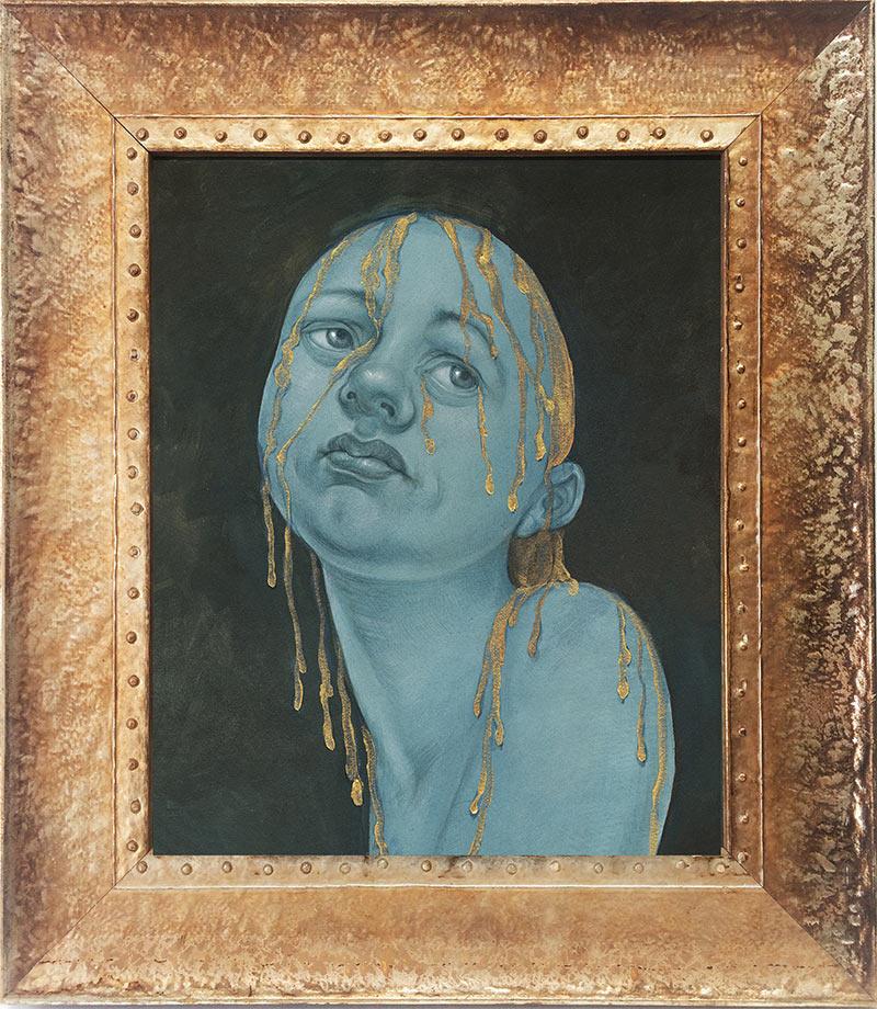 Anita Kunz - Gold Alchemy (Framed 1)
