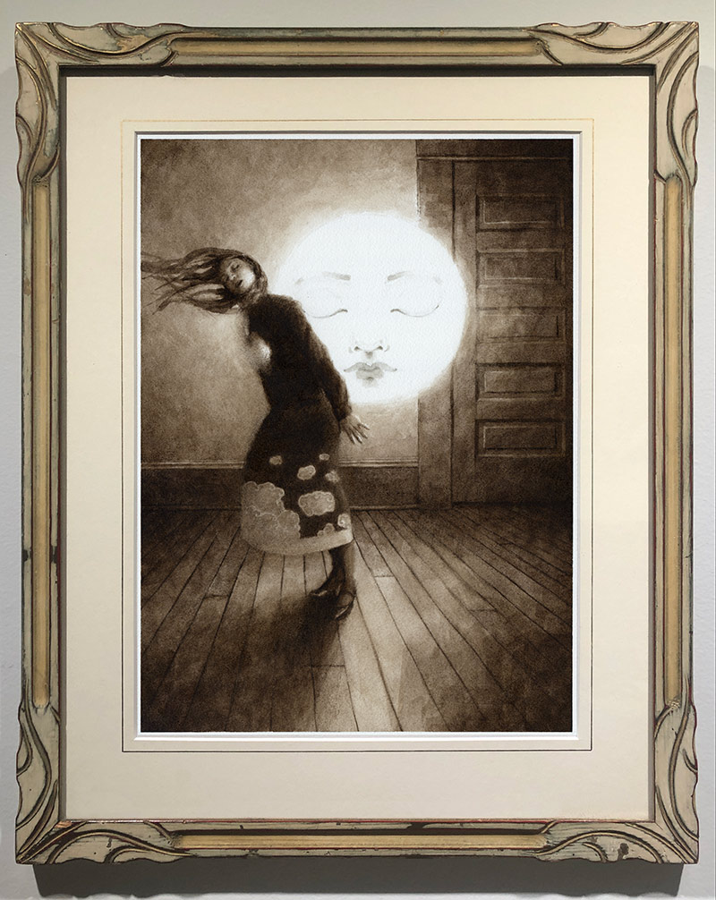 Benz and Chang - The Weight of the Sleeping Moon, 1929 (Framed)