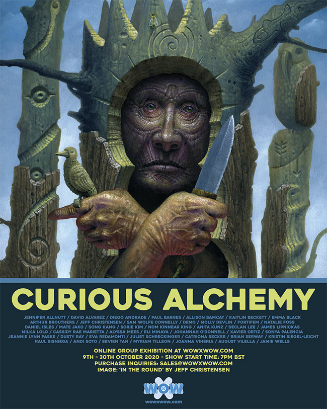 Curious Alchemy - Flyer