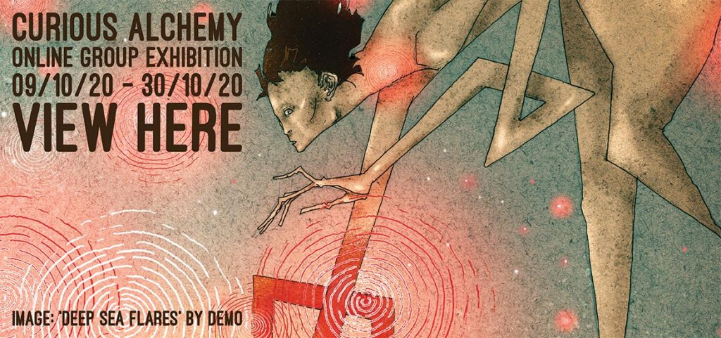 Curious Alchemy - Website Banner (DEMO)