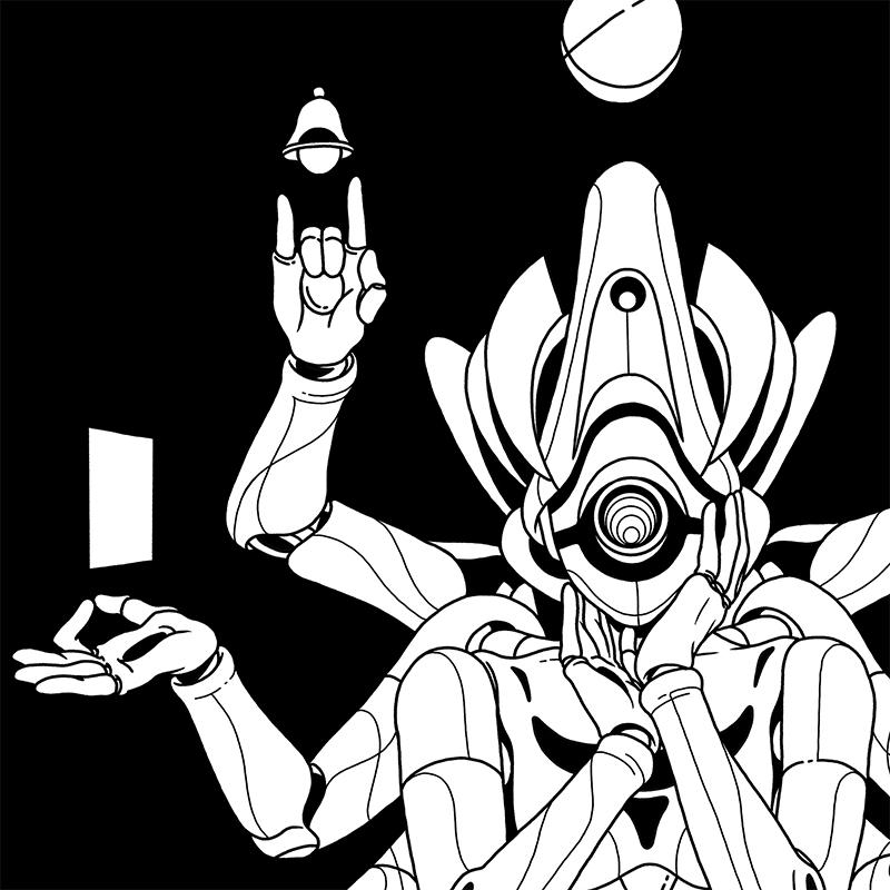 Daniel Isles - Spiritual AI (Detail 1)