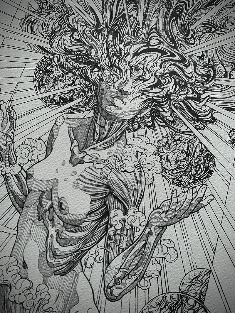 Diego Andrade - Despertar (Detail 4)