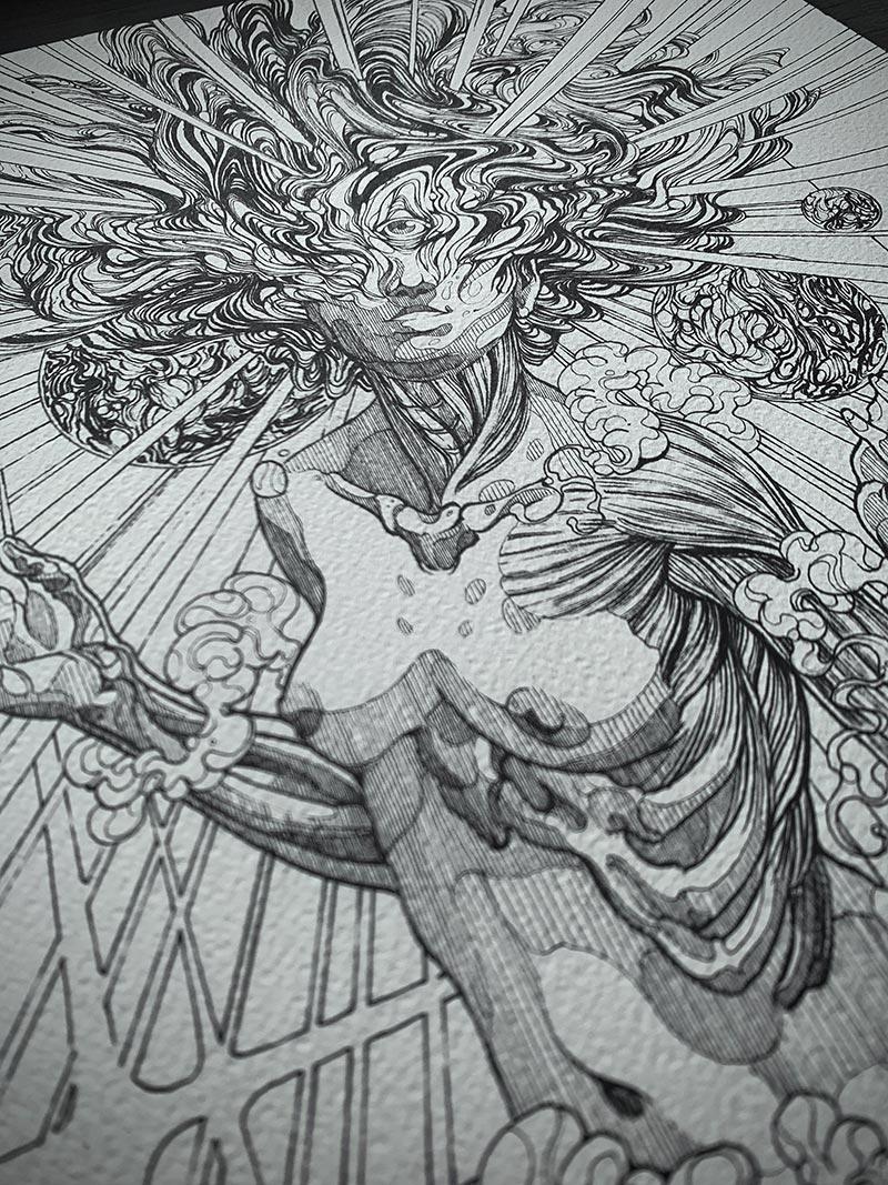 Diego Andrade - Despertar (Detail 6)